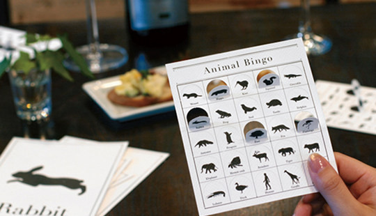 Animal Bingo by Cement Design