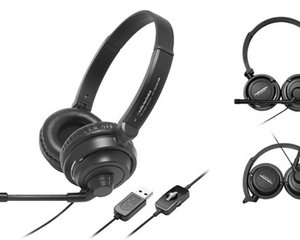 Audio-Technica ATH-750COM USB Stereo Headset
