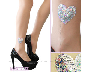 Avantgarde PANPANCORE Double Heart Fashion Tights