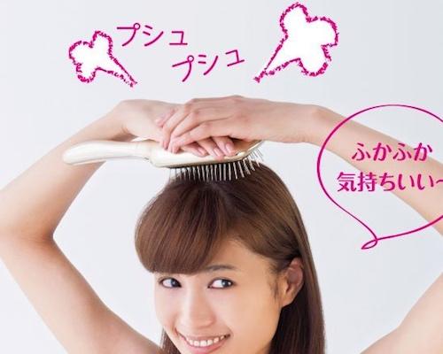 Bijouna Sonic Vibration Magnetic Hairbrush
