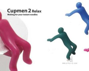 Cupmen 2 Relax Instant Noodle Figure Set