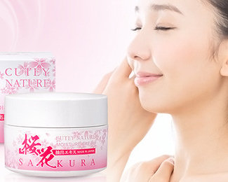 Cutey Nature Sakura Cream