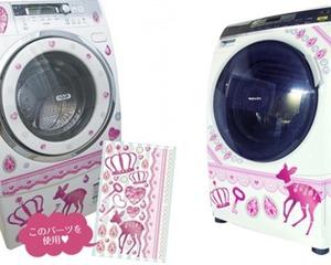 Deco Kaden Washing Machine Decoration Stickers