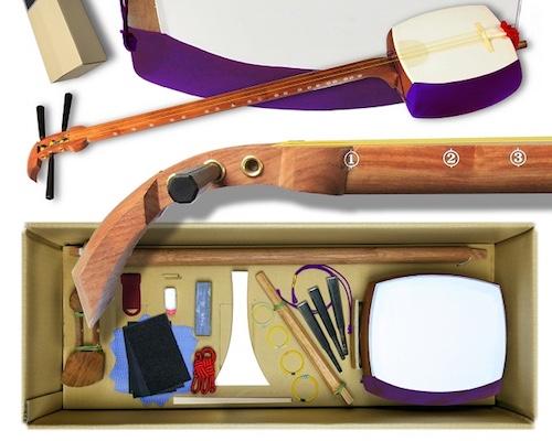 Self-Assembly Shamisen Kit
