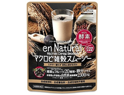 en Natural Macrobi Cereal Smoothie