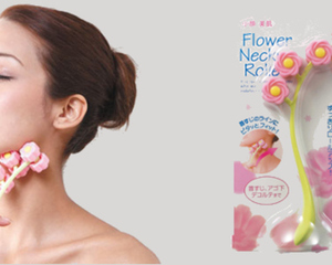 Flower Neck Roller Massager