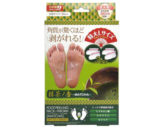 Foot Peeling Pack Matcha Scented Perorin