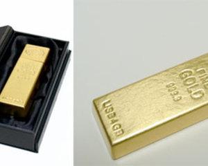 Gold Ingot USB Memory