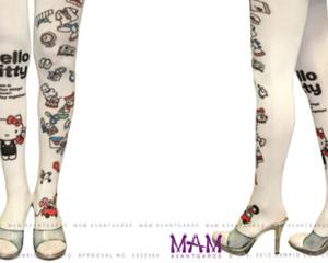 Hello Kitty Avantgarde Tattoo Tights