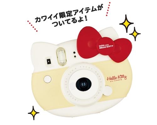 Instax Mini Hello Kitty 2016 Red Ribbon Cheki Camera