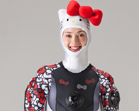 Hello Kitty Dry Suit