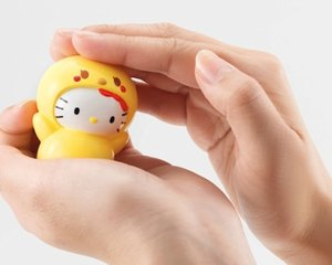 Hello Kitty Kyara-tama Hiyoko-chan Chick Toy