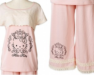Hello Kitty Room Wear Lace