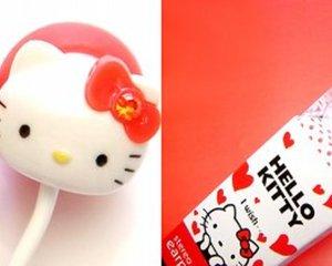 Hello Kitty Stereo Earphones