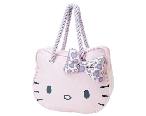 Hello Kitty Face Tote Bag