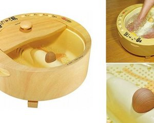 Hinoki Utase-yu Cypress Foot Bath