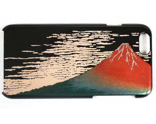 Red Mt Fuji Yamanaka Ishikawa Lacquerware iPhone 6 Cover