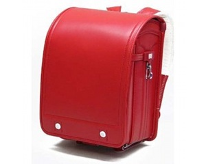 Japanese School Satchel Ransel Red Bag