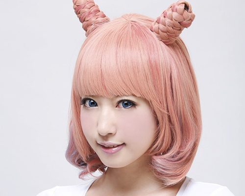 Strawberry Cream Japanese Fashion Wig