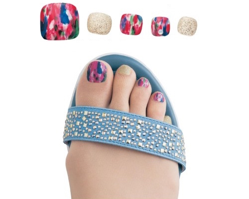Toenail Art Polish Stockings