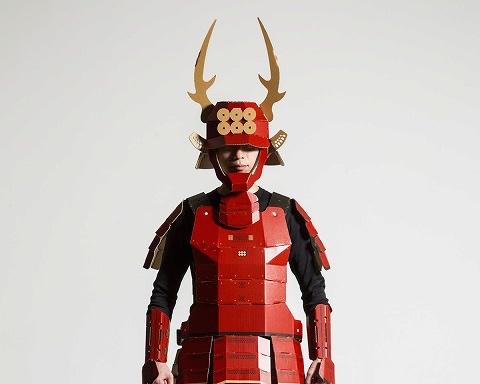 Kacchu Cardboard Samurai Armor for Adults