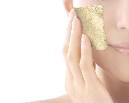 Kinka Gold Leaf 24K Skin Sheets