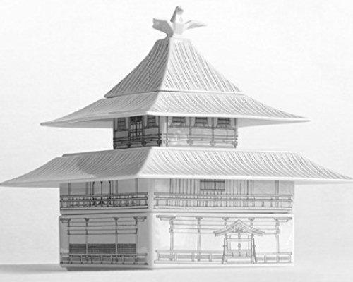 Kinkakuji Temple of the Golden Pavilion Dinnerware Set