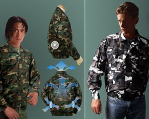 Kuchofoku Air-Conditioned Camouflage Jacket
