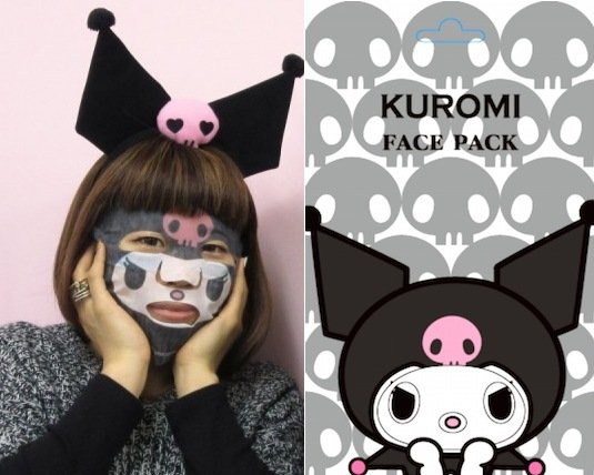Narikiri Kuromi Face Pack