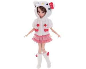 Licca-chan Hello Kitty Daisuki Room Wear
