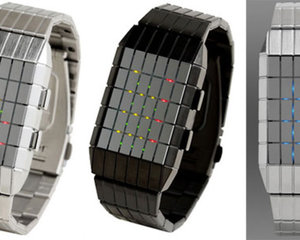Lines LED Design Watch