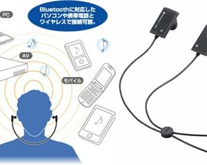Logitec Bluetooth Wireless Earphones LBT-MPHP02A