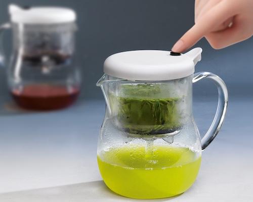 MacMa One-Push Filter Teapot