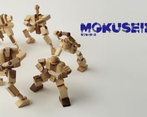 Mokuseiderz Wooden Action Figures