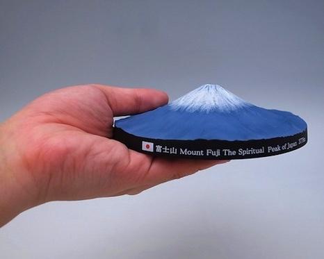 Mount Fuji 360 Degree 3D Map