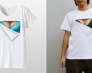 Mousou Mapping Bra T-Shirt