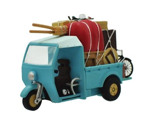My Neighbor Totoro Pullback Toy Kusakabe Car