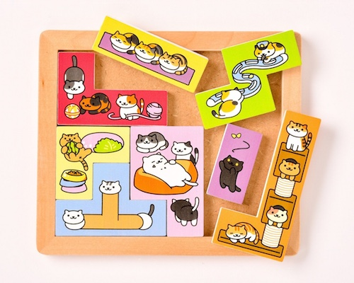 Neko Atsume Kitty Collector Puzzle Game