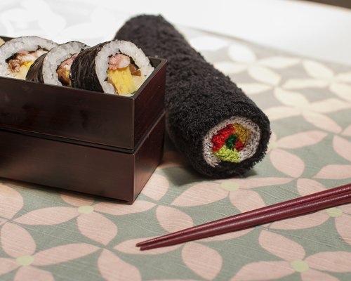 Norimaki Sushi Roll Towel