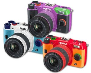 Pentax Q10 Evangelion Model Camera