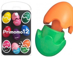 Primomo Crayons Peach Scent Coloring Eggs Set