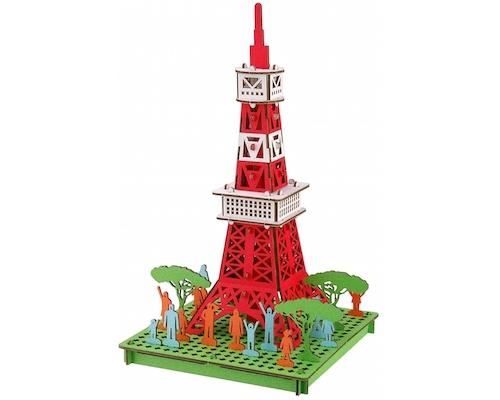 Pusu Pusu Tokyo Tower Paper Craft Model