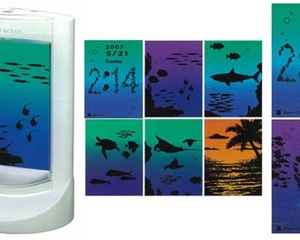 Private Ocean interactive clock light speaker