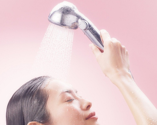Cosme Treatment Shower Head Obleu
