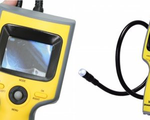 Snake-09 Waterproof Monitor Flexible Boroscope Camera