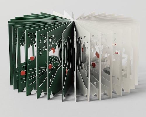 Snow White 360-Degree Book by Yusuke Oono