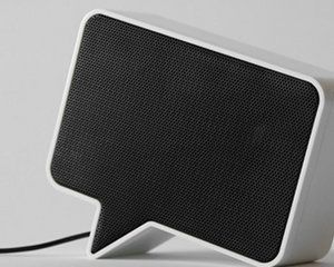 Speak-er Speech Bubble Speakers
