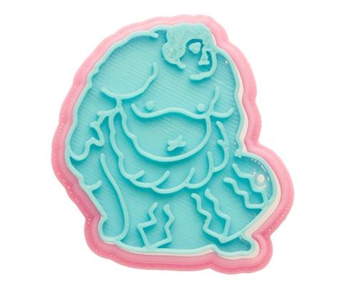 Sumo Wrestler Cookie Cutter