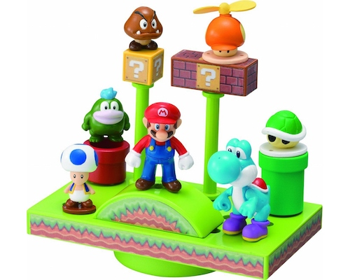 Super Mario Bros Wii Balance World Game