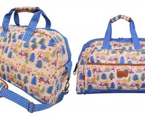 Swimmer Holiday Girl Forest Boston Bag